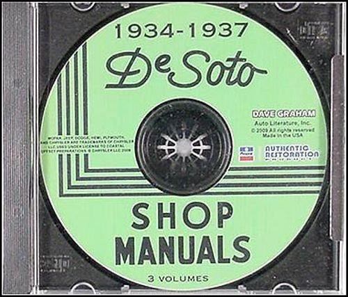 S2 Suspension Light (COMPLETE AND UNABRIDGED 1934 1935 1936 1937 DeSOTO REPAIR SHOP & SERVICE MANUAL & BODY MANUAL CD INCLUDES SE, SF, S1, S2, S3, Airstream and Airflow)