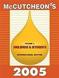McCutcheon's Emulsifiers and Detergents 9781933430010