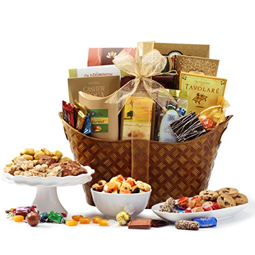 Broadway Basketeers Gourmet Gift Basket, Classic Favorites, 7 Pound
