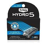 Schick Hydro Sense Hydrate Razor Blade Refill with Hydrate Gel, Includes 4 Razor Blades Refills