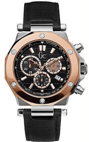 GUESS Gc Swiss Chronograph Rose-Gold Mens Watch G72005G2