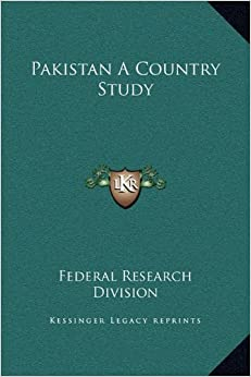 Pakistan a Country Study