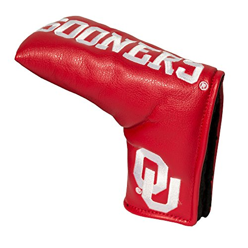 Team Golf NCAA Oklahoma Sooners Golf Club Vintage Blade Putter Headcover, Form Fitting Design, Fits Scotty Cameron, Taylormade, Odyssey, Titleist, Ping, Callaway
