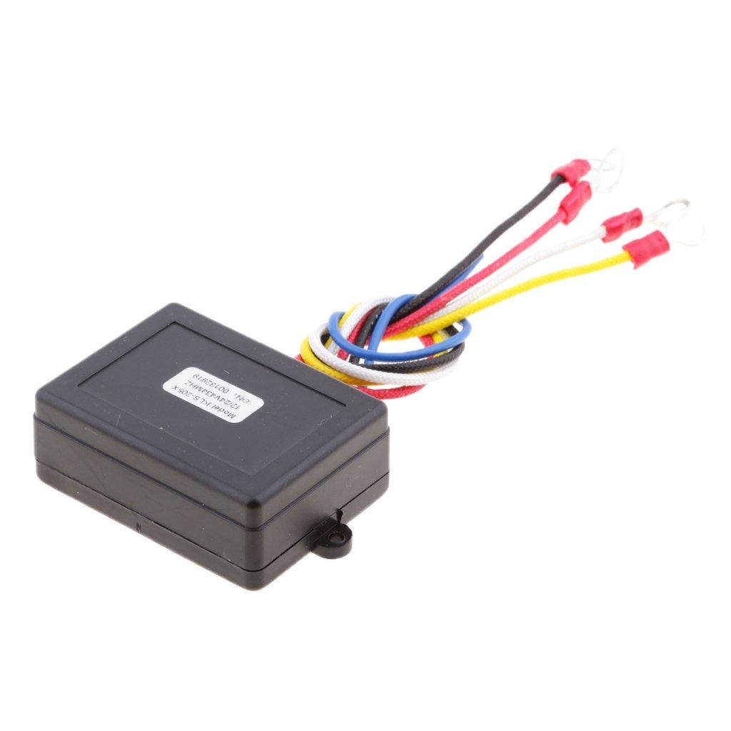 Homyl KLS-205//2 Wireless Remote Control System for 12 Volt Car UTV ATV SUV Winch