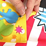 Anpanman [children apron] Kids apron / 110cm Red Bandai cute characters Toy Store