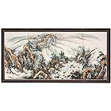Oriental Furniture 36'' Mountaintop Landscape