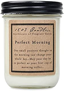 product image for 1803 Candles - 14 oz. Jar Soy Candles - (Perfect Morning)