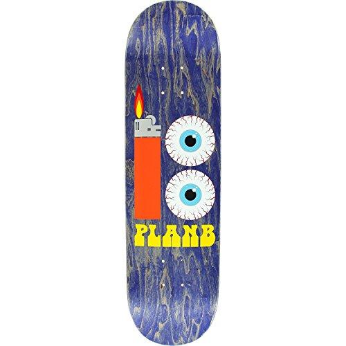 Plan B Bloodshot Deck -8.25 Assembled as COMPLETE Skateboard