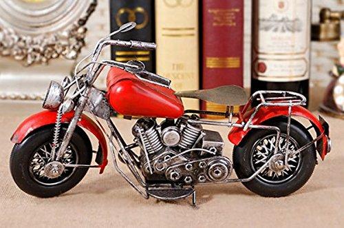 おしゃれな模型 ブリキ アメリカンバイク 完成品 TY104-3の商品画像