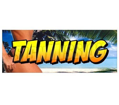 l- beauty salon tan spa sign signs ()
