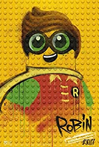 "THE LEGO BATMAN MOVIE - 11.5""x17"" Original Promo Movie Poster 2017 ROBIN"