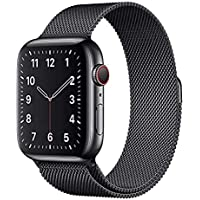 MARGOUN Milanese Loop Strap for Apple Watch Band 40mm 38mm, Stainless Steel Alloy Replacement WatchBand for iWatch…