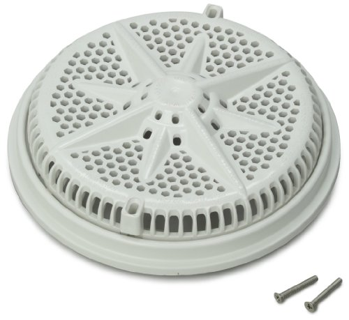 - Pentair 500103 8-Inch White Cover with Single Short Ring Replacement StarGuard Pool and Spa Main Drains