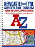 Newcastle Upon Tyne Street Atlas (Street Maps & Atlases) by Geographers' A-Z Map Company front cover