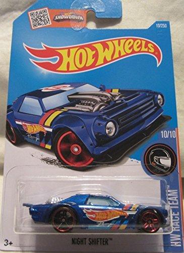 eels 2016 HW Race Team 1:64 Scale Collectible Die Cast Metal Toy Car Model #10/10 on International Long Card (Metal Shifters)