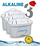 water purifiers reviews Water Filter Replacement 3Pack. Fits Wamery, Lake Ind, and Mavea Pitchers. NSF ANSI Certified Cartridges. Remove harmful Metals and Chemicals. Purify kitchen tap & sink faucet (ALKALINE: Ceramic)