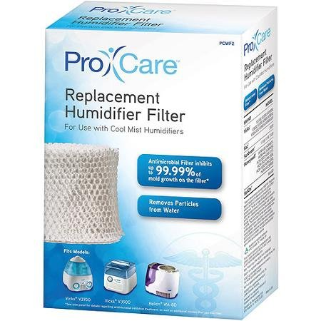 Humidifier Filters Antimicrobially Treated Bacteria