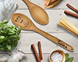 Personalized Engraved Wooden Spoon, Kitchen Gifts, Baking Gifts for Mom Deal (Small Image)