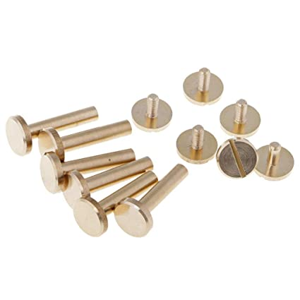 20pcs Claw Rivets Round Copper Nail Leather Clothing Shoes Bag Decorative Studs