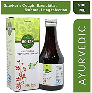 SHERWELL BIOTECH GOTAR Ayurvedic Medicine For Smokers Cough Bronchitis Asthma Lung Infection