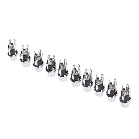 4 Stücke DC Power Buchse auf Buchse Jack Adapter Stecker 2,1x5,5mm Cx