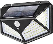 Luces Solares,114 LED Lámpara Solar Exterior Solar Luz LED,3 Modos 270 ° Lámpara Solar Exterior IP65 Impermeab