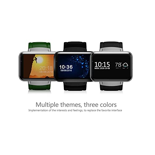iSTYLE®:Bluetooth Smart Fitness Watch DM98 3G Android 4.4 OS WIFI GPS Health Wrist Bracelet