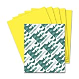 Wholesale CASE of 15 - Wausau Astrobrights Colored Paper-Astrobright Paper, 24Lb, 8-1/2''x11'', 500/PK, Solar Yellow