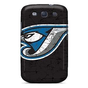 AlainTanielian Samsung Galaxy S3 Durable Hard Phone Case Custom High Resolution Toronto Blue Jays Image [CUR2071Oure]