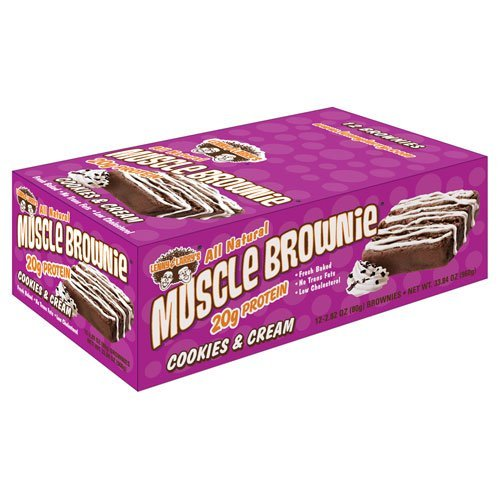 Lenny and Larry's Muscle Brownie-cookies & Cream by Lenny&Larry ()