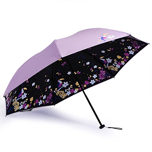 Umbrellas/30 Percent Sun Protection Umbrellas/Vinyl Umbrella/Anti-ultraviolet Sun Umbrella-A by LWZY Umbrellas