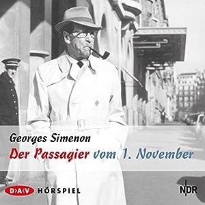 Der Passagier vom 1. November Hörspiel