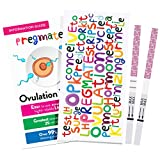 PREGMATE 50 Ovulation LH And 20 Pregnancy HCG Test Strips One Step Urine Test Strip Combo Predictor Kit Pack (50 LH + 20 HCG)