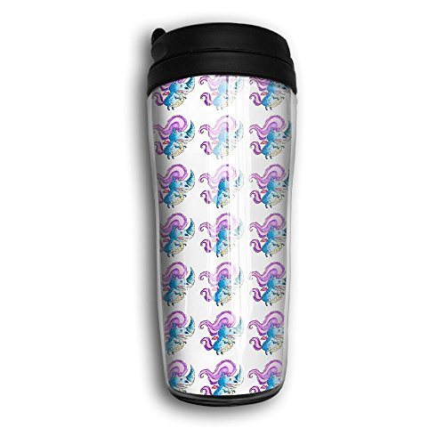 Monster Of The Unicorn Coffee Tumbler Thermal Mug Travel Mugs With Flip Top