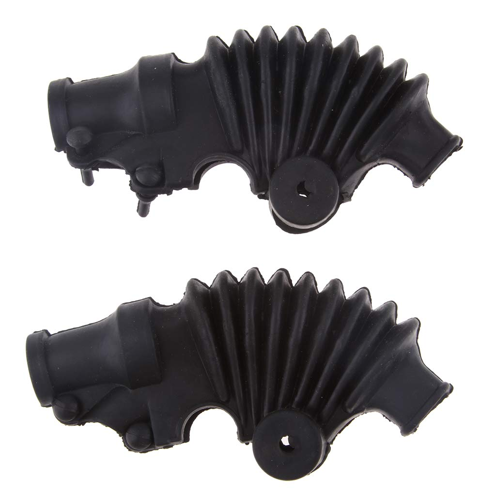 B Blesiya Left /& Right Clutch Brake Handle Lever Handlebar Waterproof Cover for CG125