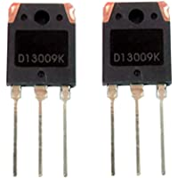 Gazechimp 2 piezas Transistor de Potencia D13009K NPN