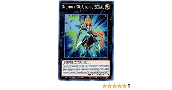 MACR-ENSE2 Limited Edition LP Yugioh Number S0: Utopic ZEXAL Super Rare