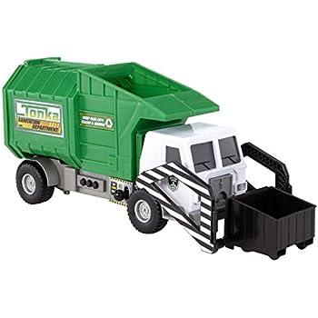 Amazon Com Tonka Mighty Motorized Garbage Ffp Truck Toys