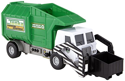 tonka 07718 tonka mighty motorized garbage ffp truck for