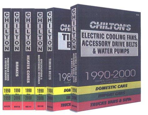 Heater Core Service 1990-2000 (Chilton Quick Reference Series)