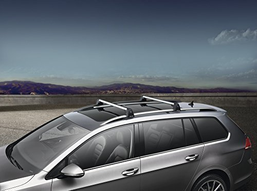 2015 VW Volkswagen Golf Sportwagen MK7 Roof Base Carrier Bars GENUINE OEM BRAND NEW