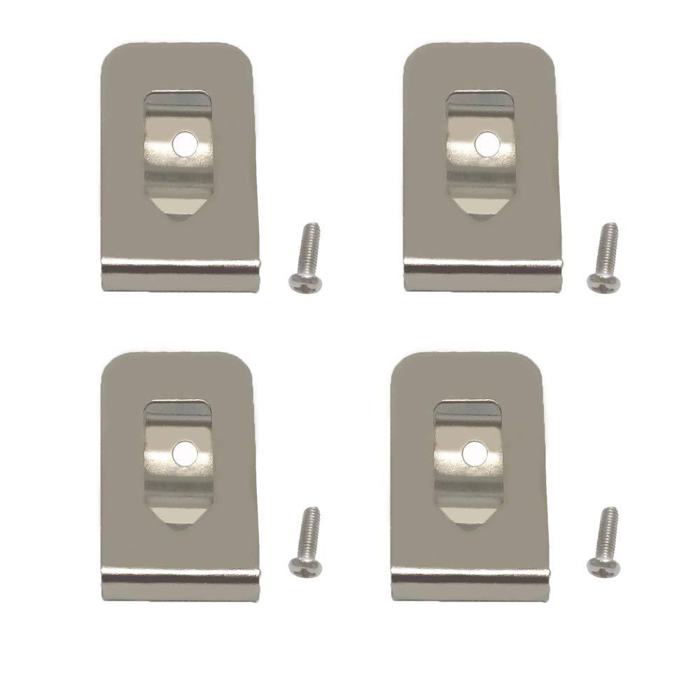 Replacement Belt Clip Hook for Dewalt N268241 Fit for 20V Max Tools DCD980 DCD985 DCD980L2 DCD985L2 (4 Pack)