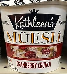 Kathleen\'s Cranberry Crunch Muesli 2 oz (Pack of 4)