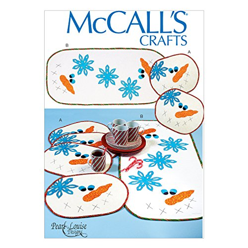 McCall's Placemats and Runners Pattern - Size: One Size Only - Pattern Number: M7064 (Placemat Mccalls)