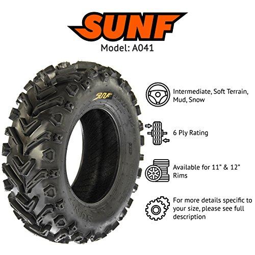 SunF A041 Mud|Trail ATV/UTV Tire 24x8-12 , 6-PR by SunF (Image #2)
