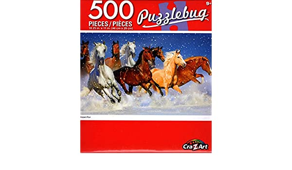 NEW CraZArt Puzzlebug 100 Piece Jigsaw Puzzle ~ White Stallion