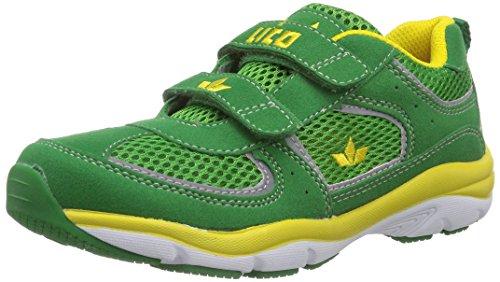 Lico Magic V Jungen Sneakers Grün (gruen/gelb)