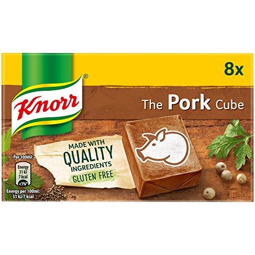 Knorr Pork Stock Cubes 8 Pack (Pork Stock)