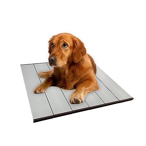 yunt cama gastos para perro Cama de dormir de verano para gato placa refrigeración de aleación