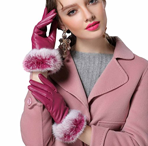 de Gloves Winter Guantes piel Ahatech Warm sint wUq7n1a8n